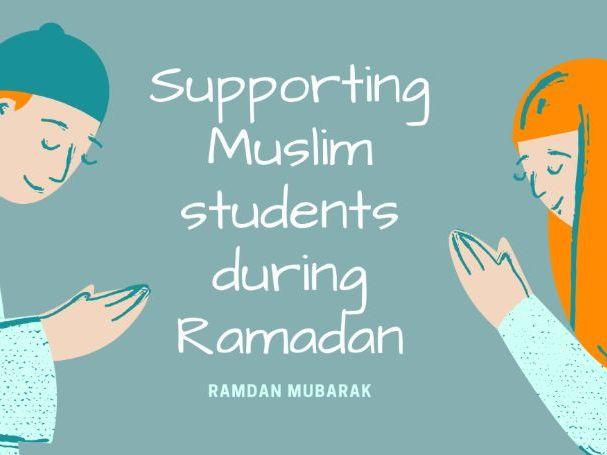 Supporting Muslim Students in Ramadan