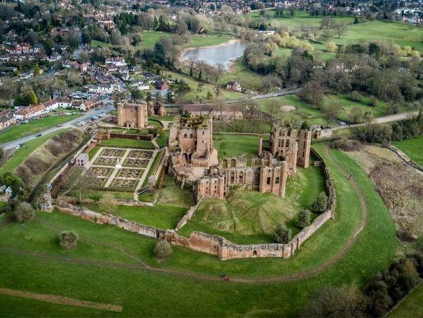 Kenilworth Castle: 2021 Historic Environment