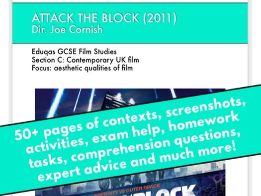 Attack the Block GCSE Film Studies scheme of work