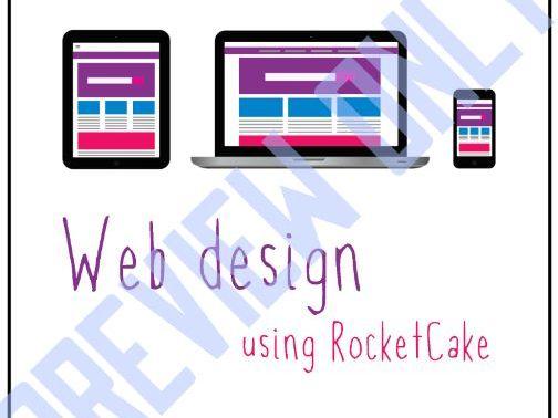 Web Design using RocketCake Booklet