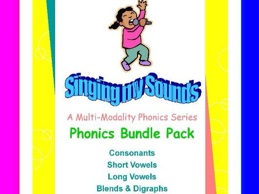 Phonics Bundle-Singing My Sounds Phonics series