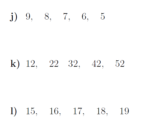 The nth term of an arithmetic sequence worksheets (with solutions)