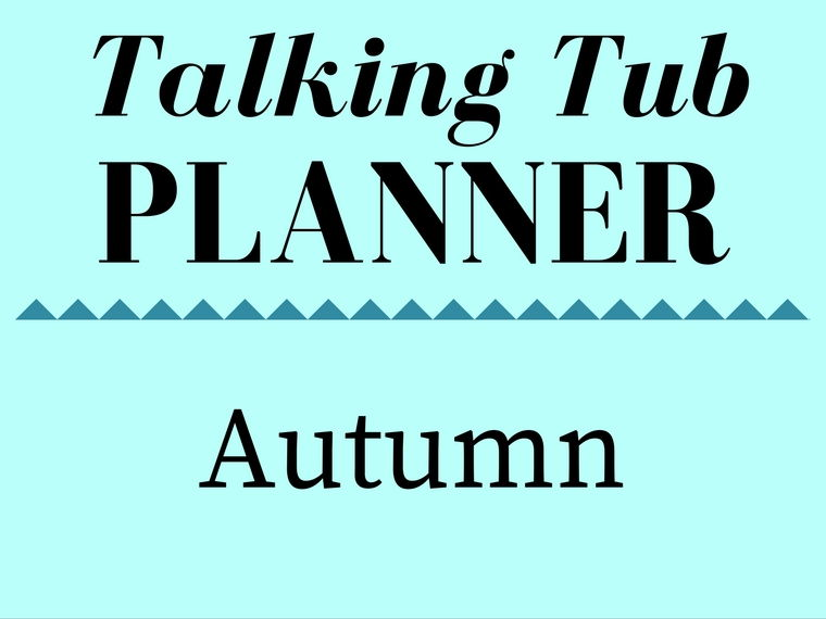 Autumn Talking Tub Planner