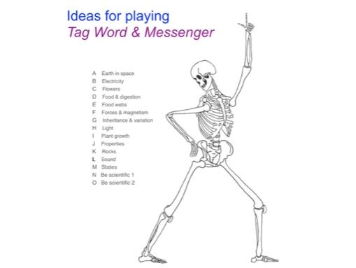 Ideas for Playing Tag Games & messenger