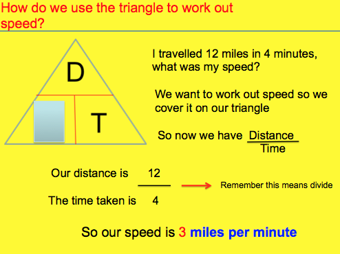 Calculating Speed (Distance Time Graphs)