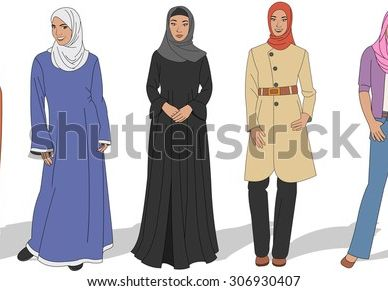 Muslim Dress - Remote Learning