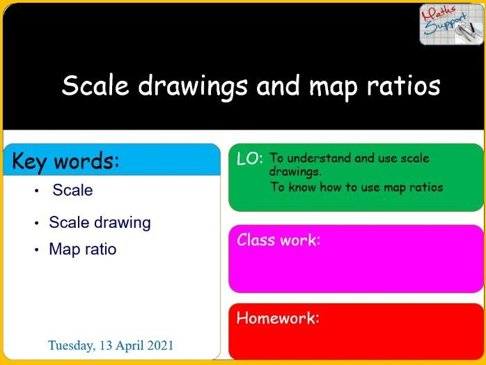 KS3 – Scale drawings and map ratios