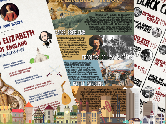 6 History Posters
