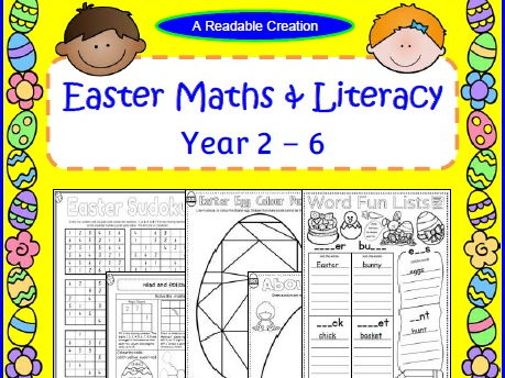 Easter Maths & Literacy