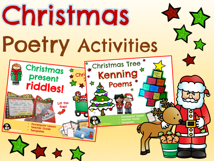 Christmas Poetry Activities