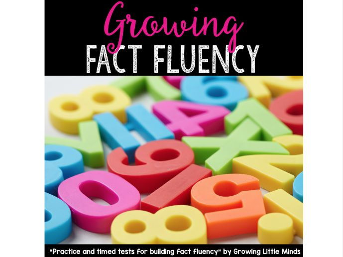 Growing Fact Fluency:  Practice and Timed Test for Building Fact Fluency