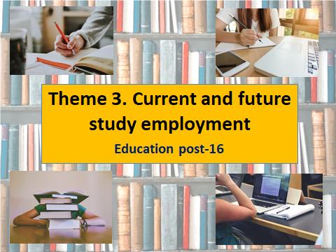 GCSE Spanish Theme 3 Unit 11 Education post-16