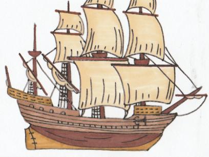 Parts of a Sailing Ship (Nomenclature Cards)
