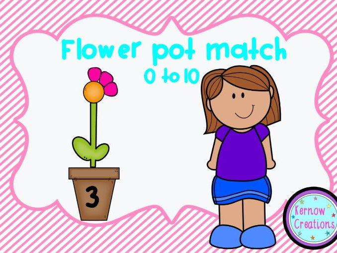 Flower Pot Match 0-10