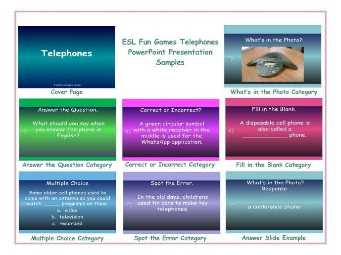 Telephones PowerPoint Presentation