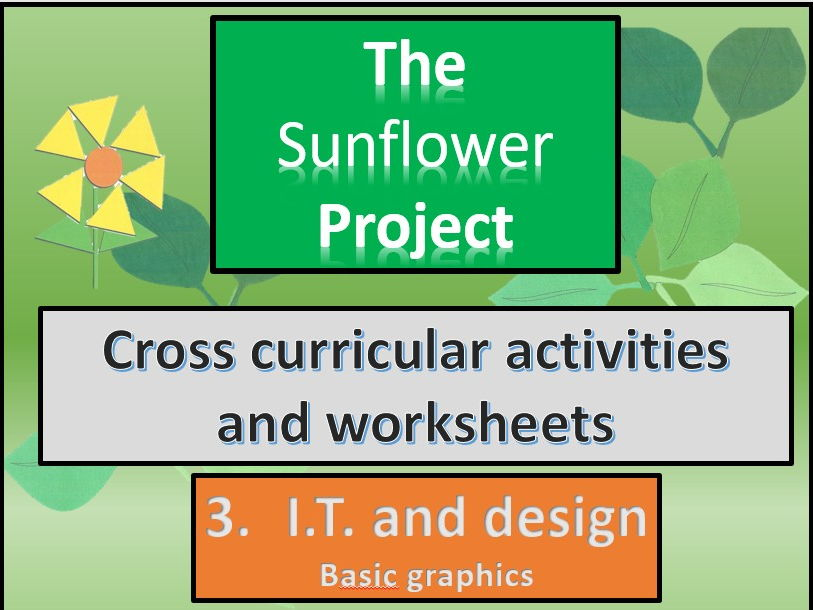 Pwilloughby3s shop teaching resources tes the sunflowers it and design cross curricular section 3 malvernweather Images