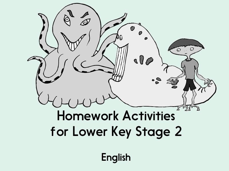English Homework - LKS2