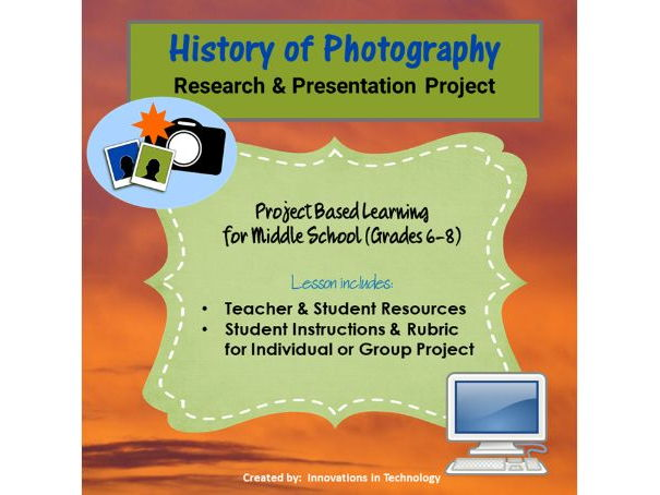 History of Photography - Research & Presentation Project