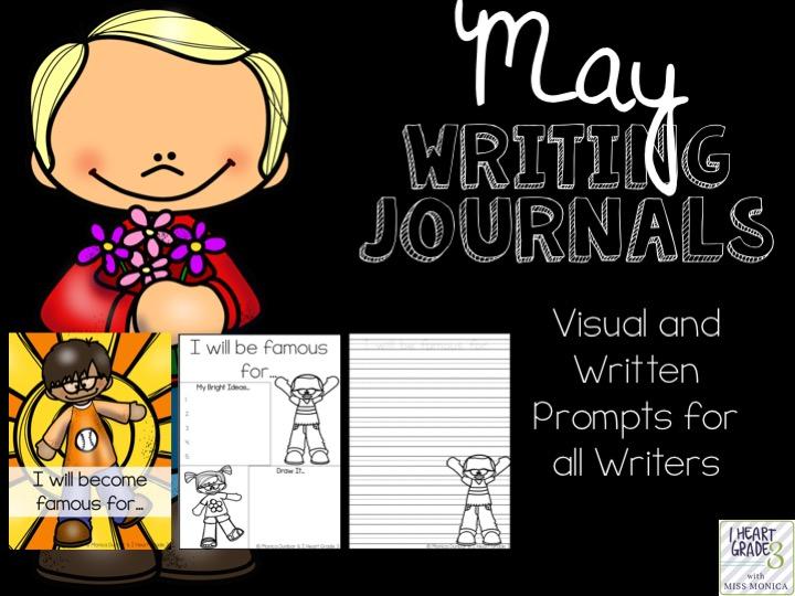 May Writing Journals