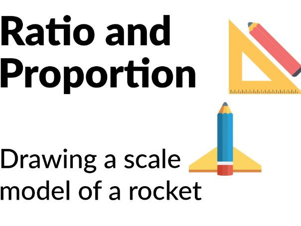 Ratio and Proportion - Drawing a scale model of a rocket [Years 4, 5]
