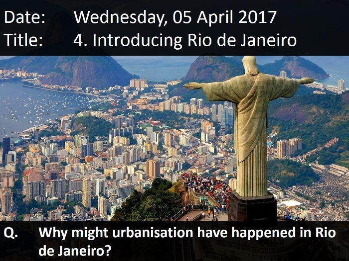 4. Introducing Rio De Janeiro