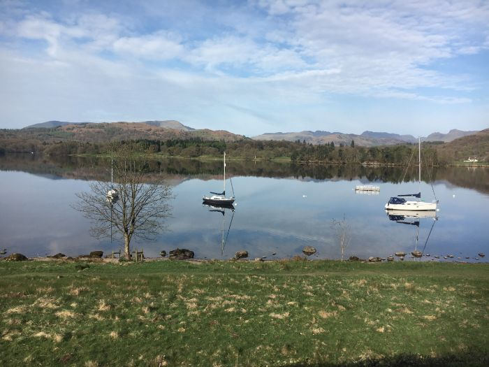 Geography: Lake Windermere, Lake District, Cumbria, England