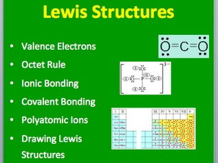 Lewis Structures - A Senior Level Chemistry PowerPoint Lesson