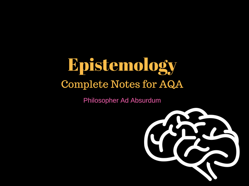 Revision Guide For Epistemology