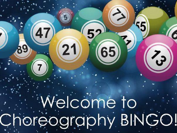 GCSE Dance Choreography Bingo
