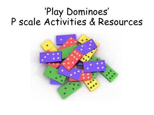SEND Maths Number Dominoes Activities