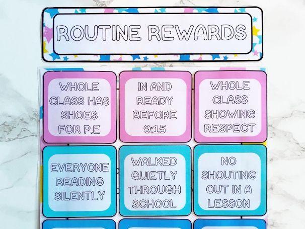 Routine Rewards Display