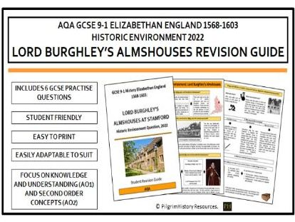 Lord Burghley's Almshouses Revision Guide