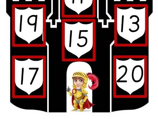 Castles Bingo to 20