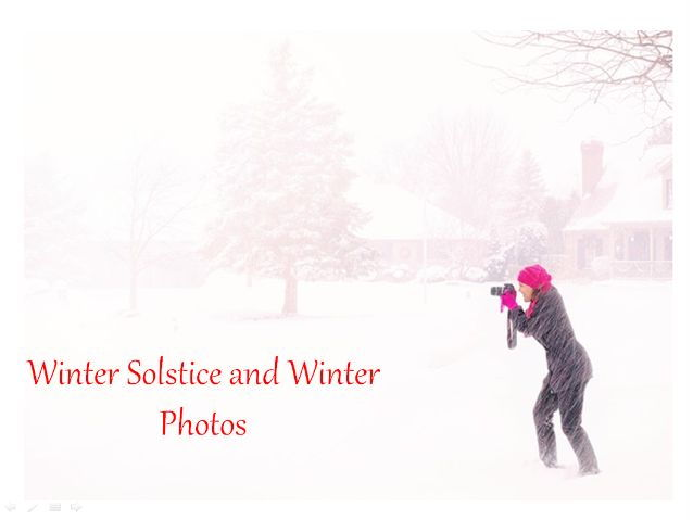 Winter Solstice and Winter Photos - PowerPoint + Creative Writing Prompts + 31 Teaching Activities