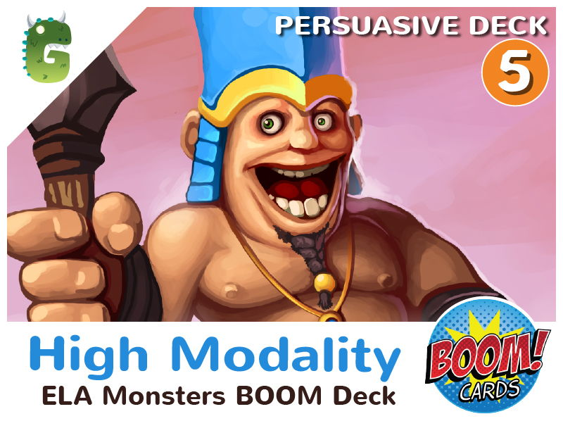 High Modality Boom Cards (Persuasive Language - Deck 5)