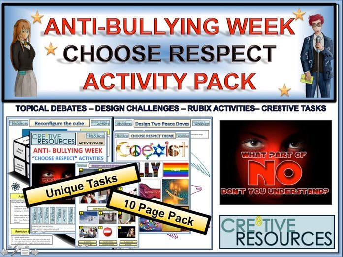 Anti-Bullying Week 2018 Activity Pack