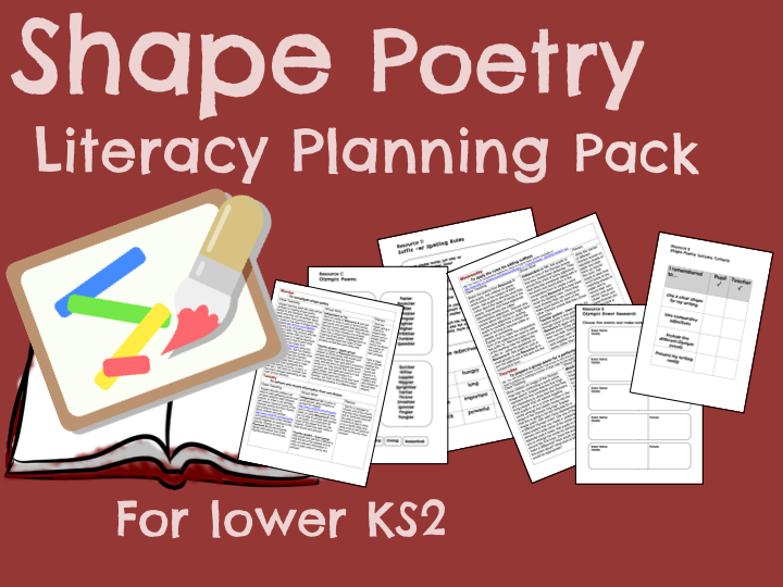 Shape Poetry Planning