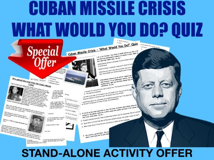 Cuban Missile Crisis - activity