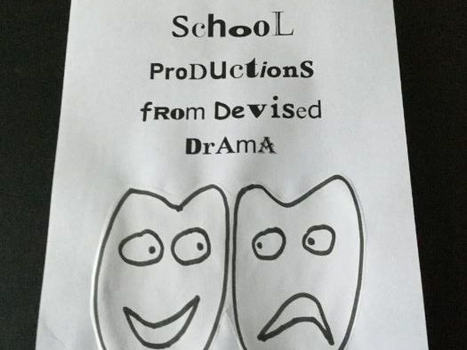 School Productions from Devised Drama (6)