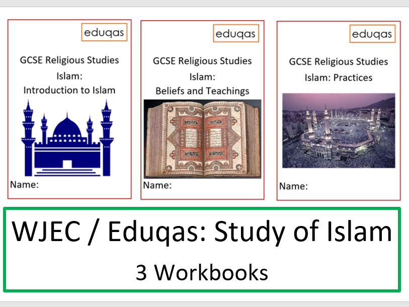 WJEC Eduqas Complete Study of Islam Workbooks