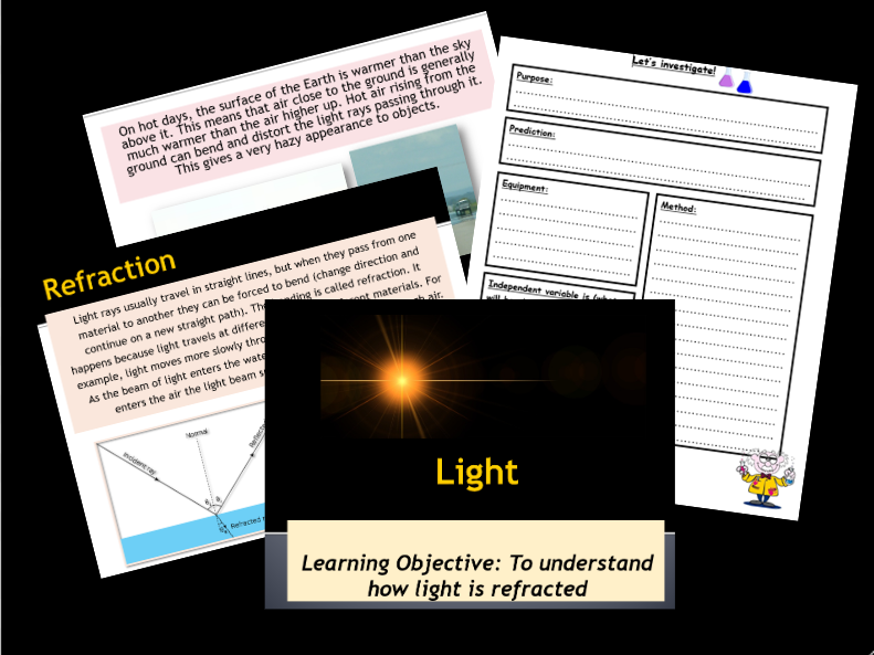 Light and Sound: Primary Science Teaching Resources ǀ Tes