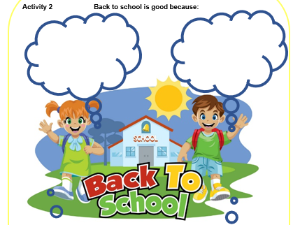 Get September Ready 'Back on Track'  KS2 Pack