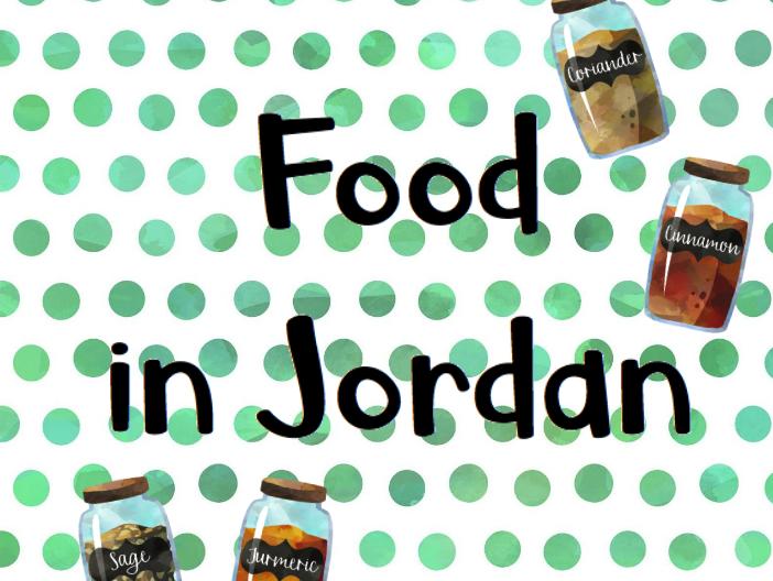Food in Jordan (Design Technology)
