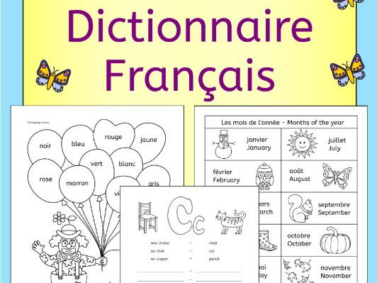 French dictionary - Mon Dictionnaire Francais