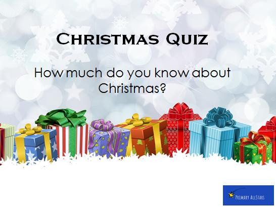 Christmas Quiz - KS2