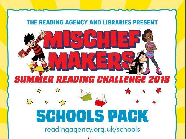 Summer Reading Challenge 2018: Mischief Makers Schools Resources