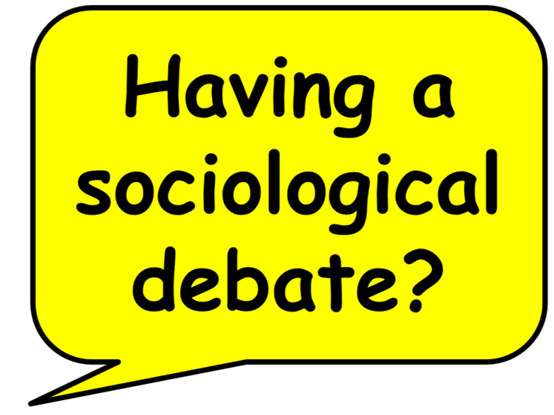 Sociology debate stems