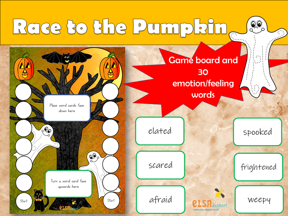 ELSA SUPPORT - HALLOWEEN - Reach the Pumpkin - PSHE, SOCIAL AND EMOTIONAL
