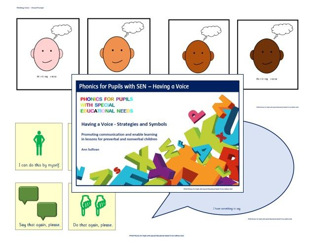 Having a Voice: Strategies and Symbols for Communication in Lessons - Phonics for SEN