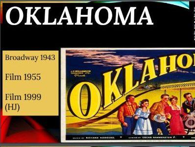 Oklahoma Richard Rodgers PowerPoint Full AQA Analysis 3 Main Songs